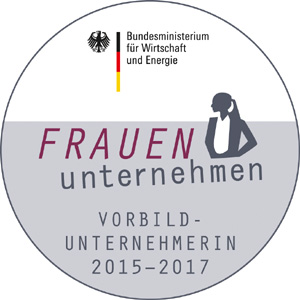 BMWi-Siegel FRAUEN-unternehmen 2017