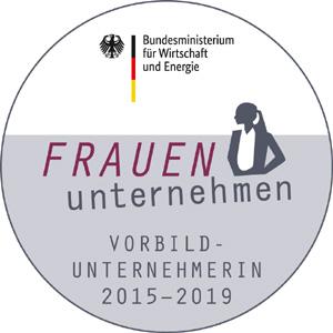 BMWi-Siegel FRAUEN-unternehmen 2019
