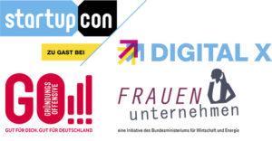 Kölner Vorbildunternehmerinnen bei der StartupCON in Köln