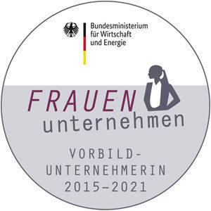BMWi-Siegel FRAUEN-unternehmen 2021